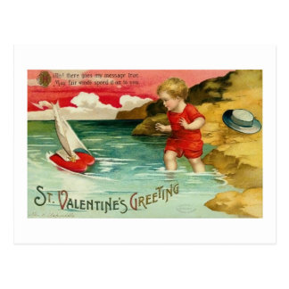 St. El saludo de la tarjeta del día de San Postal