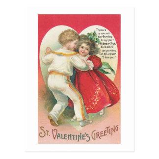 St. El saludo de la tarjeta del día de San Tarjetas Postales