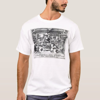 St. Eligius  as a goldsmith in his workshop T-Shirt