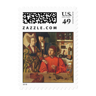 St Eligius as a Goldsmith Postage Stamps