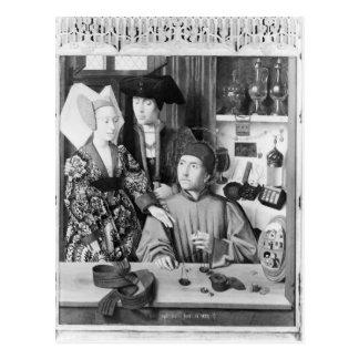 St. Eligius as a goldsmith Postcard