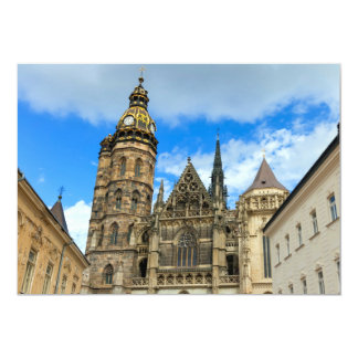 St. Elisabeth Cathedral in Kosice, Slovakia Card
