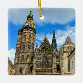 St. Elisabeth Cathedral in Kosice, Slovakia Ceramic Ornament