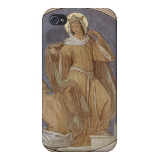 St. Elisabeth giving her Coat to a Beggar iPhone 4 Covers