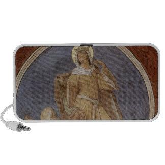St. Elisabeth giving her Coat to a Beggar iPod Speaker