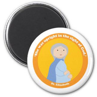 St. Elizabeth 2 Inch Round Magnet