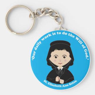 St Elizabeth Ana Seton Llavero Personalizado