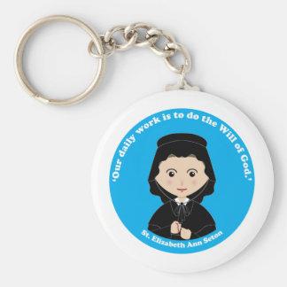 St Elizabeth Ana Seton Llaveros Personalizados