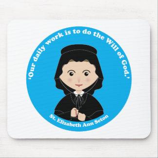 St. Elizabeth Ana Seton Tapetes De Ratón