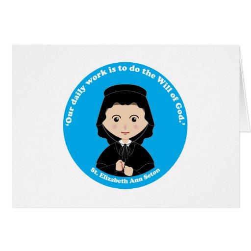 St. Elizabeth Ana Seton Tarjeta De Felicitación