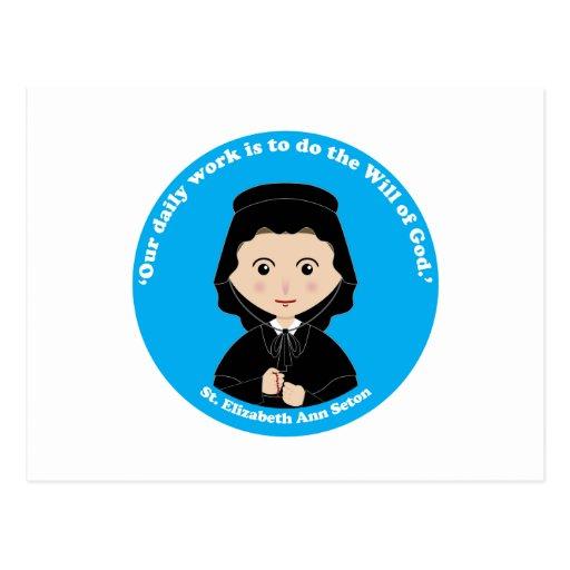St. Elizabeth Ana Seton Tarjetas Postales