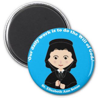 St. Elizabeth Ann Seton 2 Inch Round Magnet