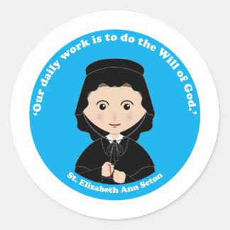 St. Elizabeth Ann Seton Classic Round Sticker