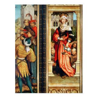 St. Elizabeth de Hungría Tarjeta Postal