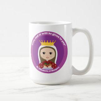 St. Elizabeth de Hungría Tazas De Café