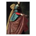 St. Elizabeth de Portugal 1640 Tarjeta De Felicitación