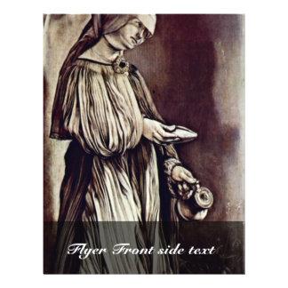 """St. Elizabeth del Thuringia de Grünewald Mathis co Folleto 8.5"""" X 11"""""""