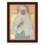 St. Elizabeth la nueva tarjeta del rezo del mártir Postal