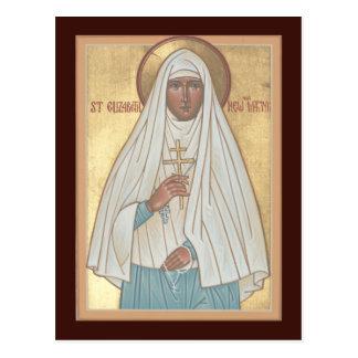 St Elizabeth la nueva tarjeta del rezo del mártir Postal