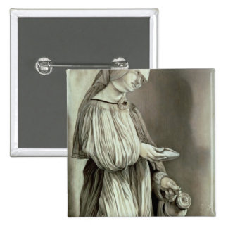 St. Elizabeth of Hungary  1509 Button