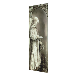 St. Elizabeth of Hungary  1509 Canvas Print