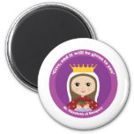 St. Elizabeth of Hungary 2 Inch Round Magnet