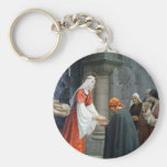 St. Elizabeth of Hungary Feeds the Poor Key Chain