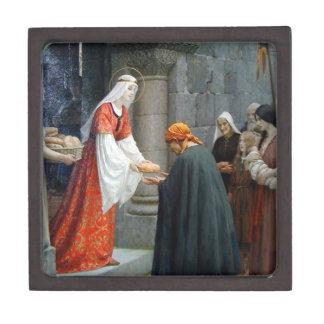 St. Elizabeth of Hungary Feeds the Poor Premium Jewelry Box