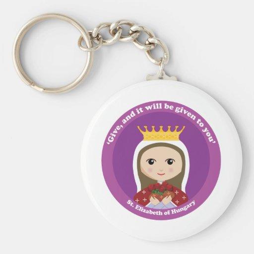 St. Elizabeth of Hungary Keychains