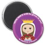 St. Elizabeth of Hungary Magnets