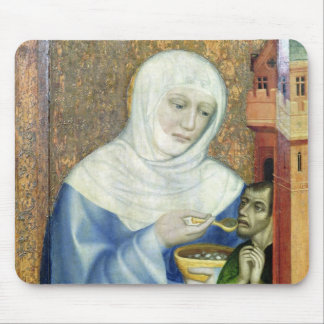 St. Elizabeth of Hungary Mouse Pad