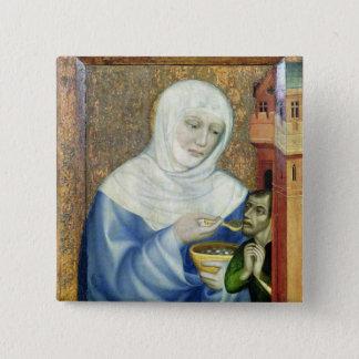 St. Elizabeth of Hungary Pinback Button