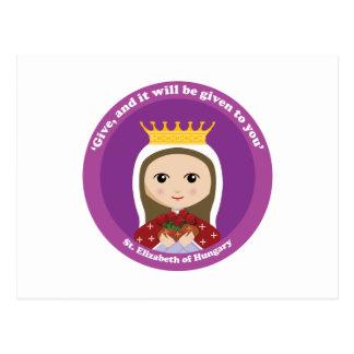 St. Elizabeth of Hungary Postcard