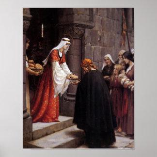 St. Elizabeth of Hungary Poster