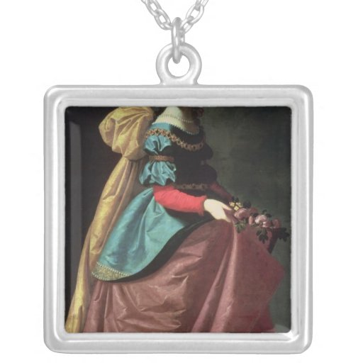 St. Elizabeth of Portugal  1640 Personalized Necklace