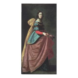 St. Elizabeth of Portugal  1640 Wood Wall Art