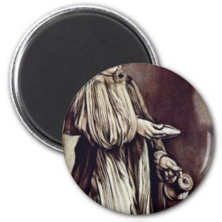 St. Elizabeth Of Thuringia By Grünewald Mathis Got Fridge Magnets