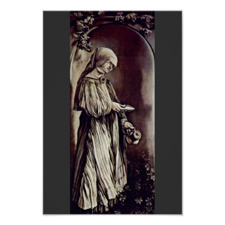 St. Elizabeth Of Thuringia By Grünewald Mathis Got Posters