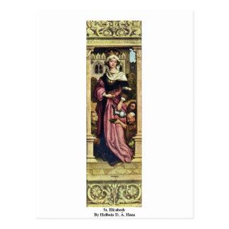 St. Elizabeth por Holbein D. Ä. Hans Postal
