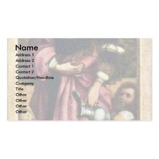 St. Elizabeth por Holbein D. Ä. Hans Plantilla De Tarjeta De Negocio