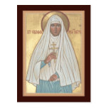 St. Elizabeth the New Martyr Prayer Card Postcard