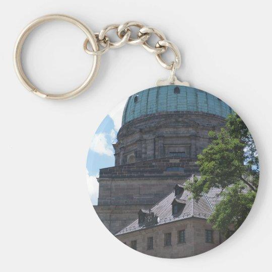 St. Elizabeth's Church in Nuremberg, Germany Keychain