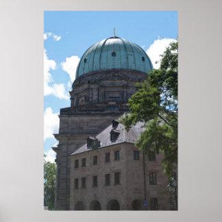 St. Elizabeth's Church in Nuremberg, Germany Poster