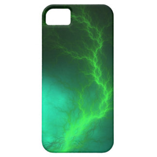 St. Elmo's Fire Fractal Abstract iPhone SE/5/5s Case