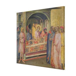 St. Eloi en el taller del platero Impresion De Lienzo