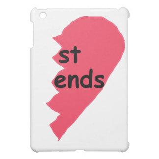 ST ENDS Best Friends half iPad Mini Cover