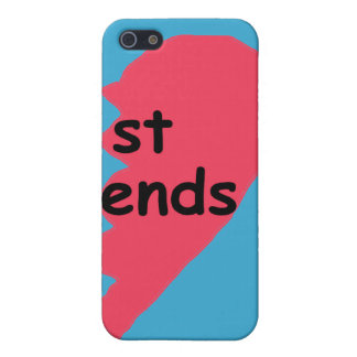 ST ENDS Best Friends half iPhone 5/5S Cases