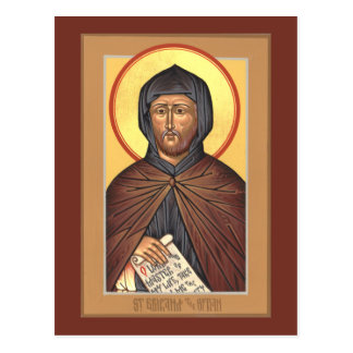 St. Ephraim la tarjeta siria del rezo Postal