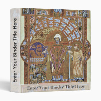 St. Erhard, Reads The Fair By Meister Des Uta-Cod 3 Ring Binder