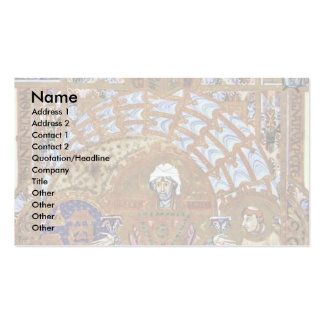 St. Erhard, Reads The Fair By Meister Des Uta-Cod Double-Sided Standard Business Cards (Pack Of 100)